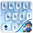 Water Drops Keyboard: Water Effects Themed Emojis