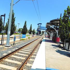 by Barbara Boyte - Transportation Railway Tracks