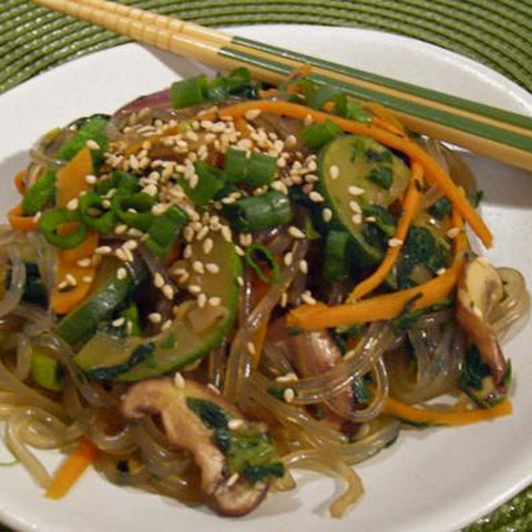 Chapchae (Korean Stir-Fried Noodles)