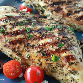 Greek Marinated Grilled Chicken