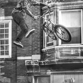 Bike Stunts by Lisa Newberry - Sports & Fitness Cycling (  )