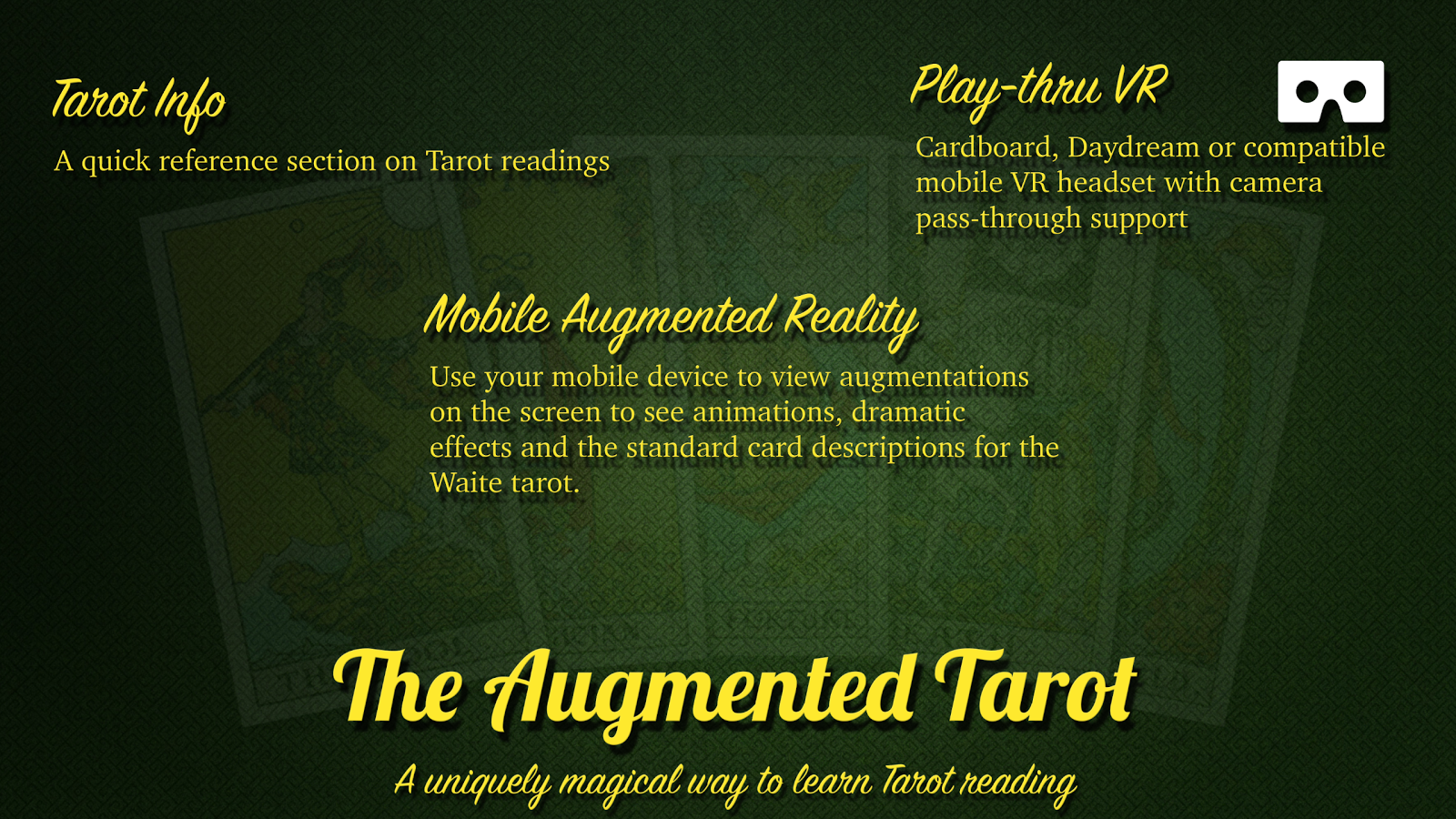 The Augmented Tarot Screenshot 1
