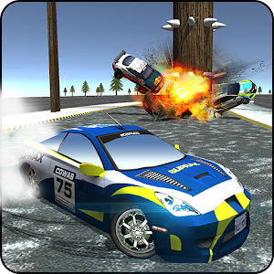 Racing Car Driver Stunt Wars