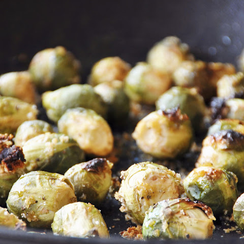 Breaded Maple Glaze Roasted Brussels Sprouts