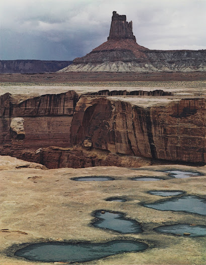 Canyonlands National Park is located in southeastern Utah.  President Lyndon Johnson signed legislation creating the park in 1964. Naturalist photographer Eliot Porter captured its buttes, canyons, and mesas in all their vivid color, as a proponent of the artistic merits of color photography.