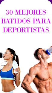 Batidos caseros deportistas - screenshot