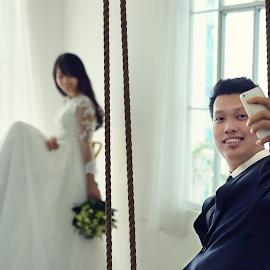 by Tran Ngoc Phuc Ngoctiendesign - Wedding Bride & Groom