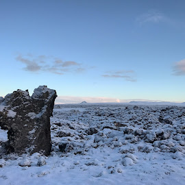 Lavafield by Bjarklind Þór - Instagram & Mobile Instagram ( winter )