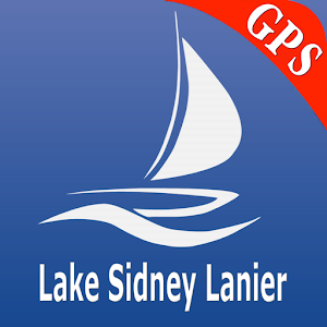 Lake Sidney Lanier GPS Charts For PC