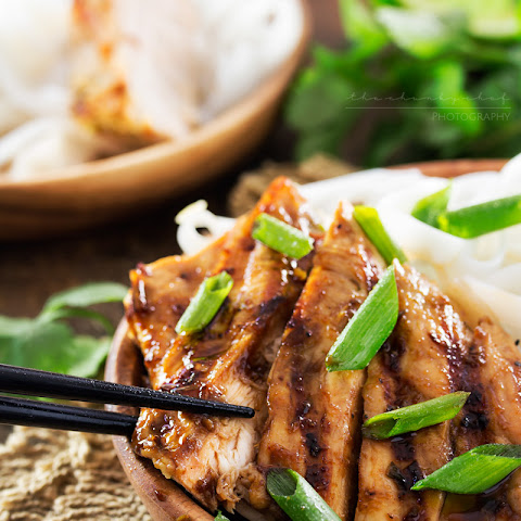 Ginger Lemongrass Teriyaki Grilled Chicken #Recipe