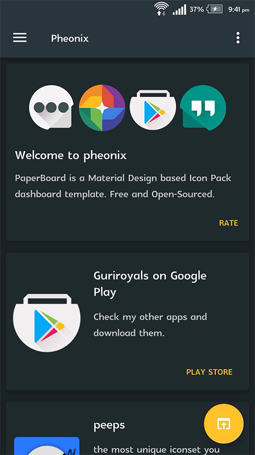Phoenix - Icon Pack Screenshot 5