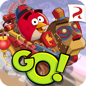 Cover art Angry Birds Go!