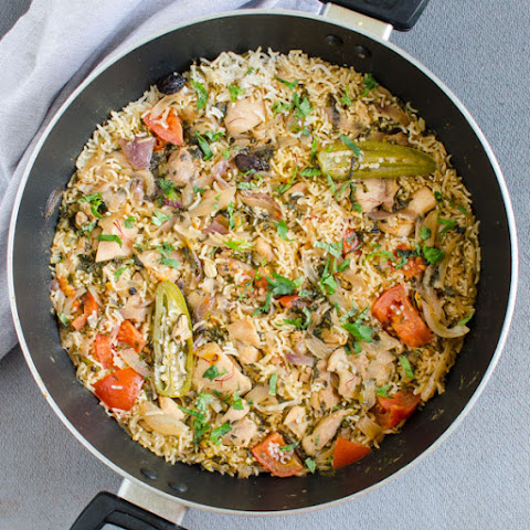 One Pot Easy Chicken Biryani
