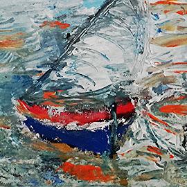 Brojem hopes by Vanja Škrobica - Painting All Painting