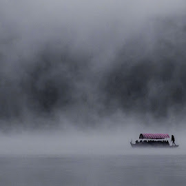 Lost In The Mist by Miro Zalokar - Landscapes Weather