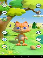Screenshot of Talking Cat Free