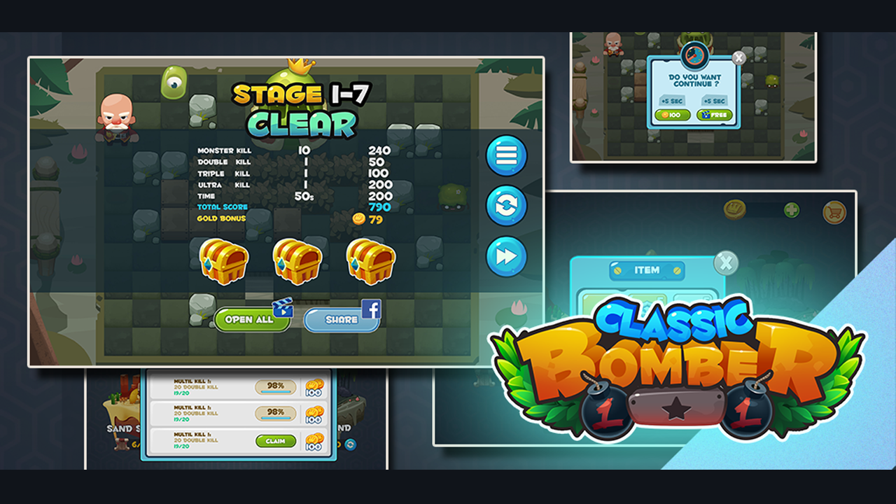 Bomber Heroes - Bomba game Screenshot 6
