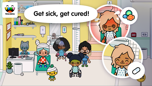 Toca Life: Hospital screenshot 3