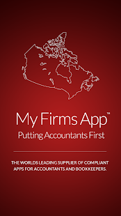 Canadian Accountants App - screenshot