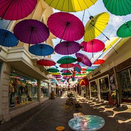 Where the street has no rain by Stephen De Couto - City,  Street & Park  Markets & Shops ( #turkiye #fetiyhe )