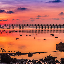 Pier by JethroLlarenas Abagao - Landscapes Sunsets & Sunrises