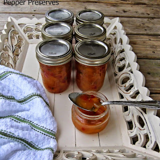 Pecan Peach Pepper Preserves