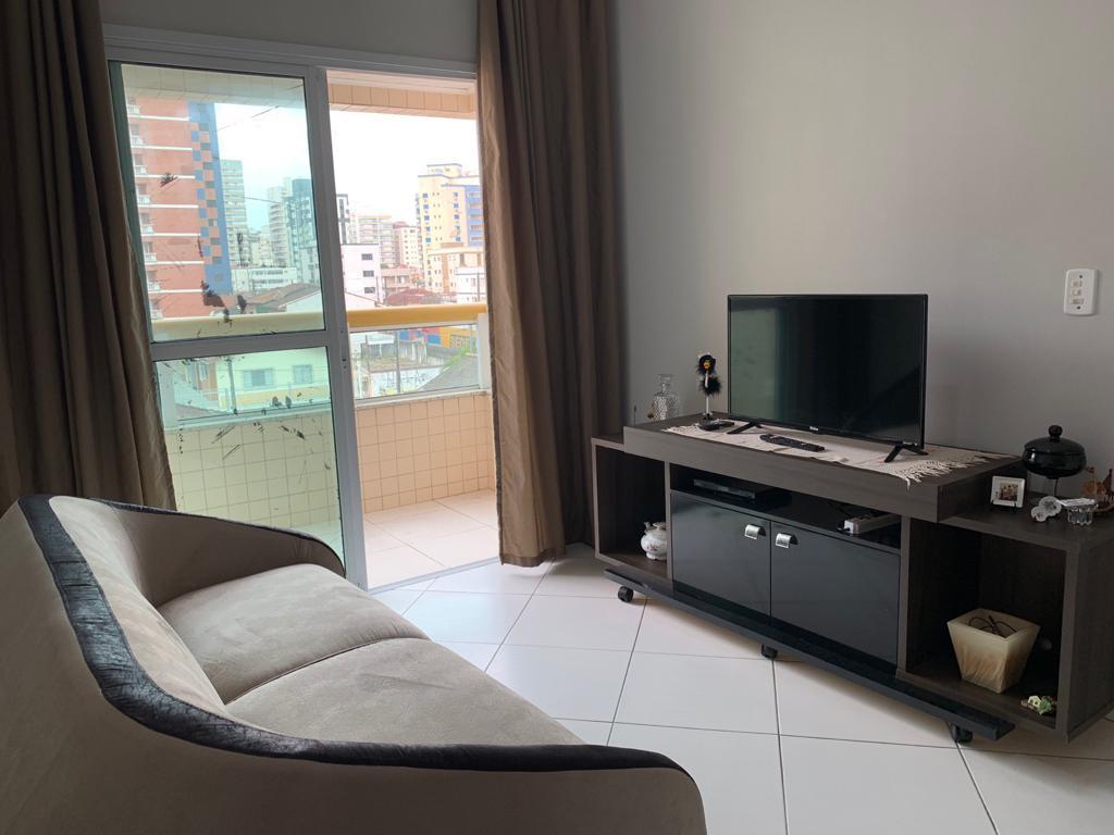 Apartamento com 1 dormitório para alugar, 44 m² por R$ 1.300/mês - Tupi - Praia Grande/SP