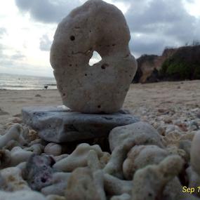 Melasti beach by Yudya Daton - Nature Up Close Rock & Stone