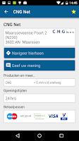 Screenshot of CNG Net