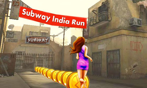 Subway India Run - screenshot