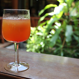 welcome drink by Cheten Sharma - Food & Drink Alcohol & Drinks ( orange, welcome drink, maldives )