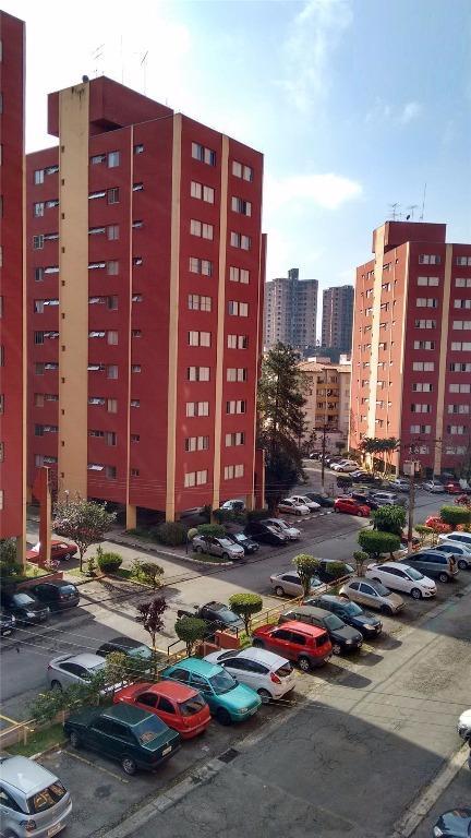 Apartamento com 2 dormitórios à venda, 56 m² por R$ 235.000 - Demarchi - São Bernardo do Campo/SP