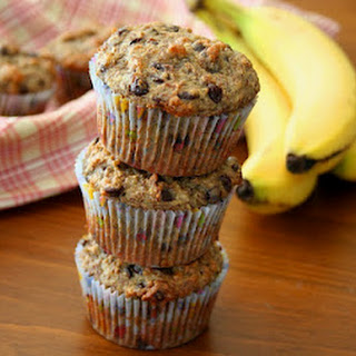 Banana Chocolate Chip Flax Seed Muffins Recipes