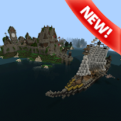 App Survival islands map for MCPE apk for kindle fire