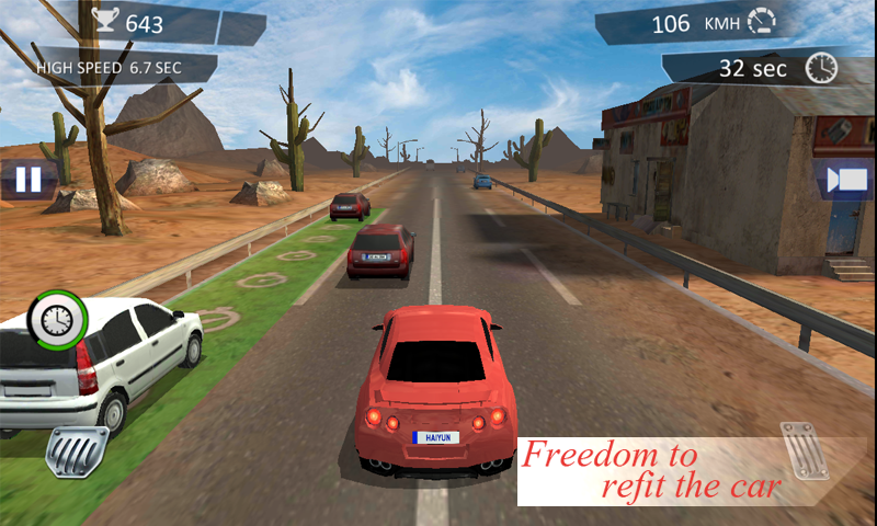 City Traffic Racer Dash Screenshot 3