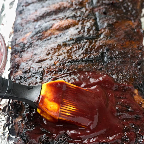 Blueberry Whiskey Barbecue Sauce