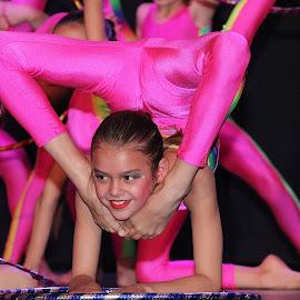 dans by Roolien de Bruyn - Sports & Fitness Other Sports ( pink leotart )