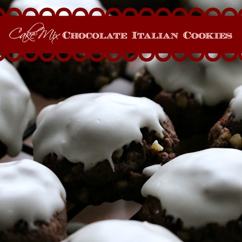 Cake Mix Italian Chocolate Cookies