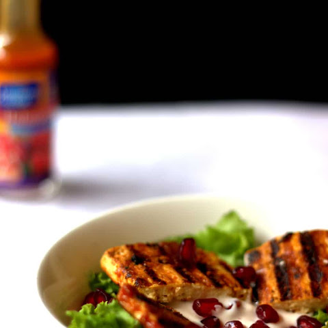 Under 30 Minute Habanero Grilled Paneer Salad with Eggless Mayo Dressing
