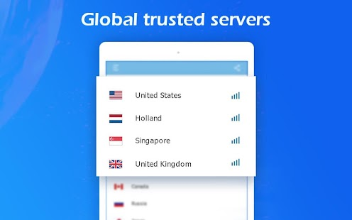 Free VPN Master - Fast secure proxy VPN Screenshot