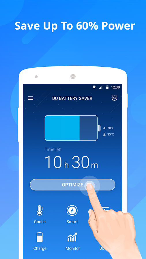 DU Battery Saver - Battery Charger & Battery Life Screenshot 0