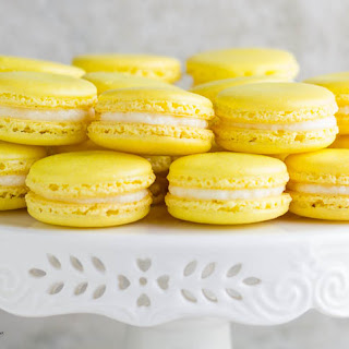 Lemon French Macarons