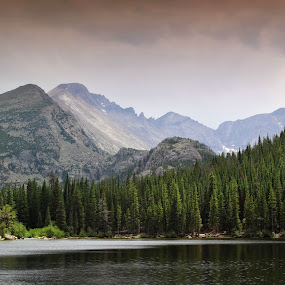 Rocky Mountains by Katie McKinney - Landscapes Mountains & Hills ( water, mountains, national park, nature, rocky mountains, colorado, lake, forest, rocky mountain national park, rmnp, landscape, hike,  )
