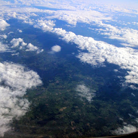 From above by Janet Smothers - Landscapes Cloud Formations (  )