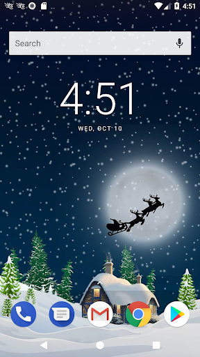 Christmas backgrounds - Santa Claus wallpapers screenshot 3