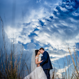 Cooler Tones by Lood Goosen (LWG Photo) - Wedding Bride & Groom ( wedding photography, wedding photographers, brides, wedding dress, wedding destination, destination wedding photography, wedding day, weddings, wedding, late afternoon, bride and groom, wedding photographer, bride, groom, bride groom,  )