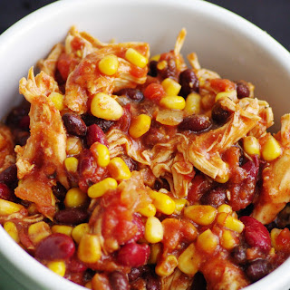 Crock Pot Chicken Taco Chili