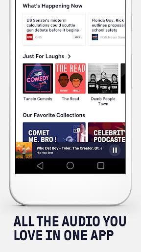 TuneIn: Stream NFL Radio, Music, Sports & Podcasts screenshot 3