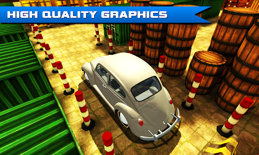 Game Car Driver 4 (Hard Parking) APK for Kindle