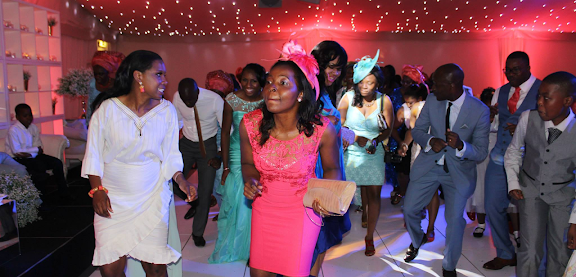 DJ-BLITZ ENTERTAINING GUESTS AT A WEDDING RECEPTION